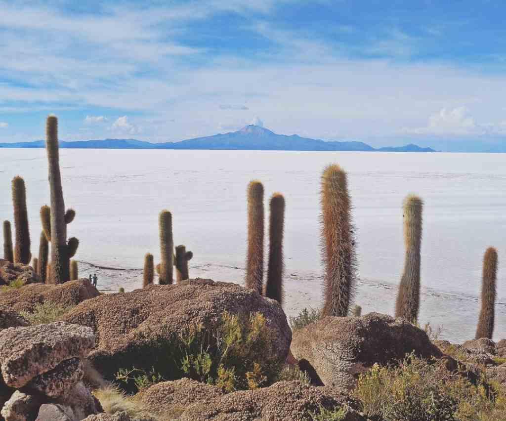 Уюни, солёное озеро в Боливии
