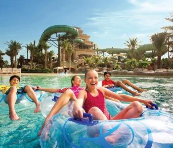 Аквапарк Aquadventure Дубай