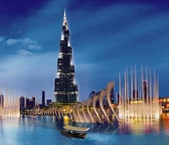 Танцующие фонтаны (The Dubai Dancing Fontain) Дубай