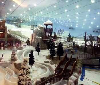 Горнолыжный центр Ski Dubai Дубай