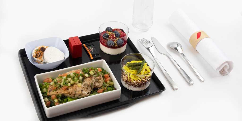 Новое здоровое меню Healthy на борту рейсов Air France