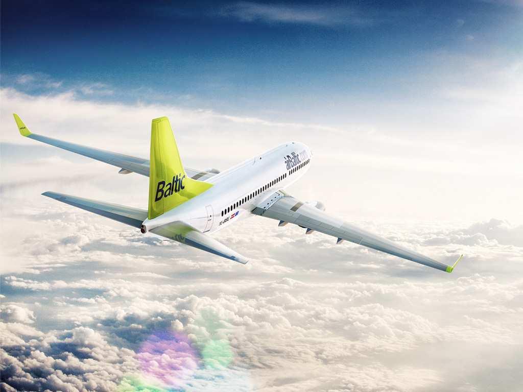 airBaltic возглавляет европейский рейтинг пунктуальности