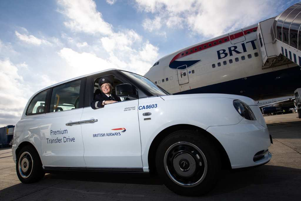 British Airways запускает электрические такси в Хитроу