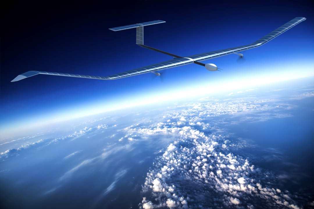 Facebook снова тестирует дрон на солнечных батареях