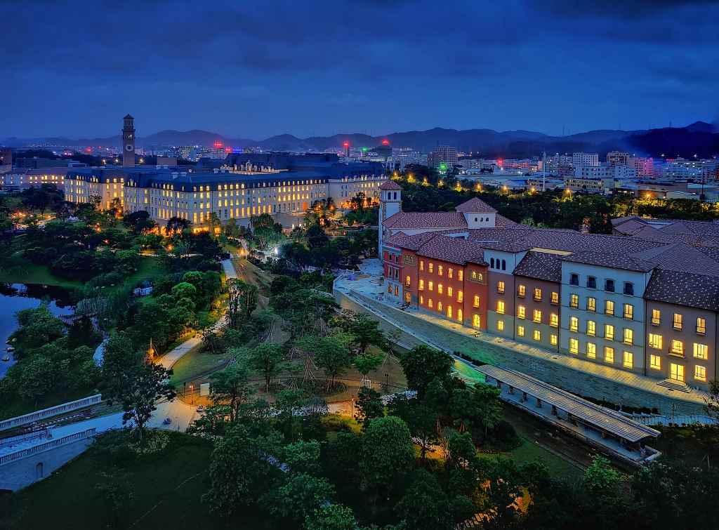 Отдел исследований и разработок Huawei в кампусе Xiliubeipo Village