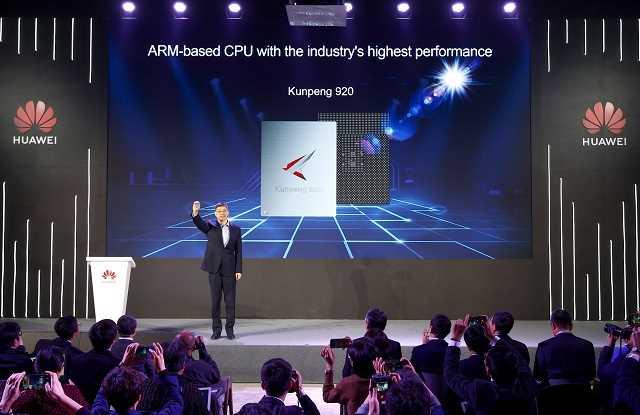 Huawei представляет новый процессор на базе ARM