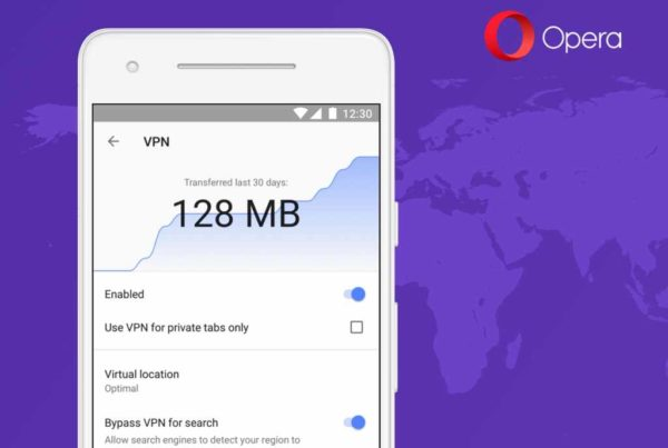 VPN для Opera для Android - бета-тестирование
