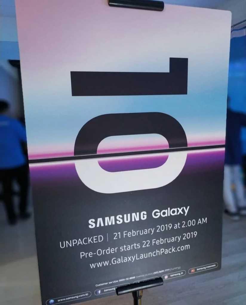 Предварительные заказы на Samsung Galaxy 10 стартуют 21 февраля