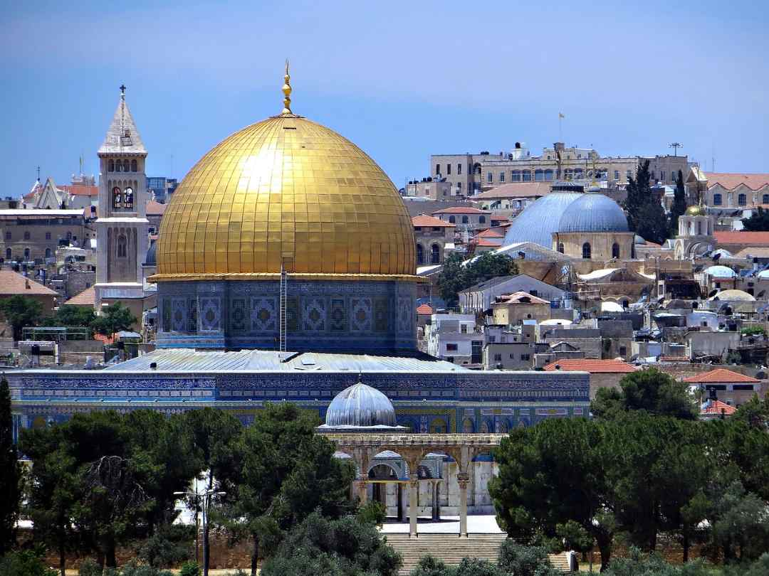 Купол Скалы — мусульманское святилище