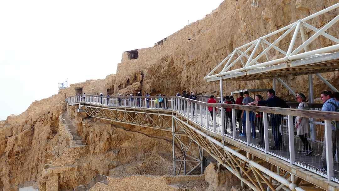 Масада – древняя крепость в восточной части Израиля